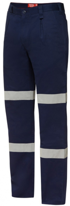 Picture of Hardyakka-Y02615-COTTON DRILL PANT WITH DOUBLE HOOP TAPE