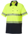 Picture of Hardyakka-Y11383-HIVIS SHORT SLEEVE COTTON BACK POLO